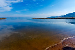 Landscape of Kinneret Lake - Galilee Sea Stock Photography