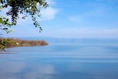 Landscape of Kinneret Lake - Galilee Sea Stock Image