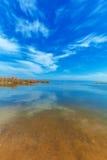 Landscape of Kinneret Lake - Galilee Sea Royalty Free Stock Image