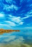 Landscape of Kinneret Lake - Galilee Sea Royalty Free Stock Photos