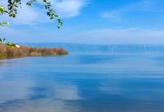 Landscape of Kinneret Lake - Galilee Sea Stock Images