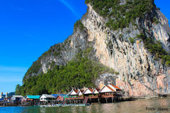 Landscape Koh Panyee Royalty Free Stock Photos