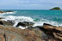 Landscape in Koh Samet Royalty Free Stock Photo