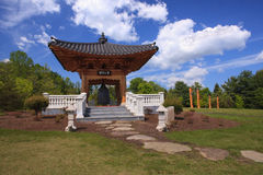 Landscape Korean Bell Garden Virginia Royalty Free Stock Image
