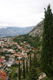 Landscape of Kotor. Beautiful view of Kotor (Montenegro Stock Photos
