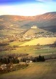 Landscape of Krasna Horka, Slovakia Royalty Free Stock Image