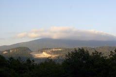 Landscape of Krasnaya Poliana, Sochi Stock Image