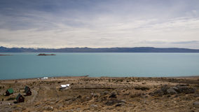 Landscape in La Calafate, Argentina Royalty Free Stock Photography