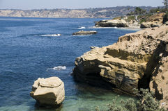 Landscape in La Jolla, California Royalty Free Stock Images