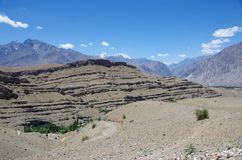 Landscape in Ladakh Royalty Free Stock Photo