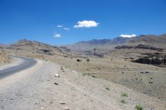 Landscape in Ladakh Royalty Free Stock Photography