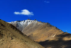 Landscape of Ladakh, Changla Pass, Jammu and Kashmir, India Stock Images