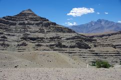 Landscape in Ladakh, India Stock Photography
