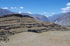 Landscape in Ladakh, India Royalty Free Stock Photo