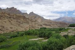 Landscape in Ladakh, India Stock Photos