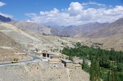 Landscape in Ladakh, India Royalty Free Stock Photos