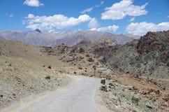 Landscape in Ladakh, India Royalty Free Stock Image
