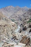 Landscape in Ladakh, India Stock Photography