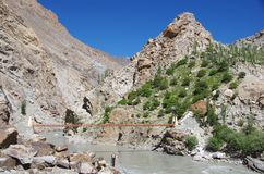 Landscape in Ladakh, India Royalty Free Stock Photos