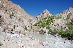 Landscape in Ladakh, India Royalty Free Stock Images
