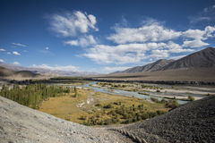Landscape of Ladakh in India Stock Photo
