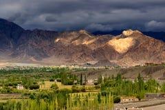 Landscape of Ladakh, Jammu and Kashmir, India Royalty Free Stock Photos