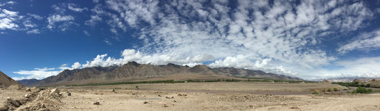 Landscape of Ladakh, Jammu and Kashmir, India Royalty Free Stock Photography