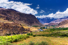 Landscape of Ladakh, Jammu and Kashmir, India Royalty Free Stock Images