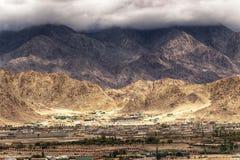 Landscape of Ladakh, Jammu and Kashmir, India Royalty Free Stock Image