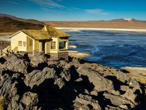 Landscape at Laguna Colorada Royalty Free Stock Photo