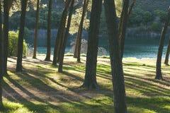 Landscape in Lagunas de Ruidera, Spain royalty free stock photo