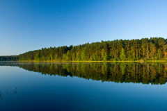 Landscape at the lake Stock Photography