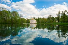 Landscape at Lake Royalty Free Stock Images