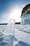 Landscape of Lake Baikal Royalty Free Stock Images