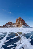 Landscape of Lake Baikal Royalty Free Stock Photography