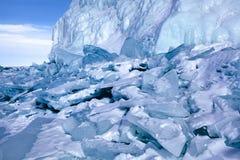 Landscape of Lake Baikal Stock Photo