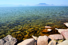 Landscape of Lake Balaton, Hungary Stock Photography
