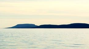 Landscape at Lake Balaton Royalty Free Stock Photography