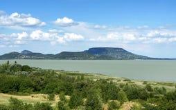 Landscape of Lake Balaton, Hungary Royalty Free Stock Photography