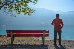 Landscape of Lake Brienz, Switzerland royalty free stock photos