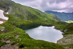Lake Capra in Romania Royalty Free Stock Photos