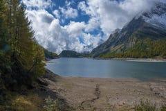 Landscape. Lake codelago in alpe devero Stock Photos