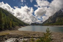 Landscape. Lake codelago in alpe devero Stock Photo