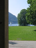 Landscape of Lake of Como royalty free stock photos