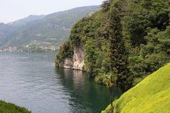 Landscape at Lake Como Stock Photos