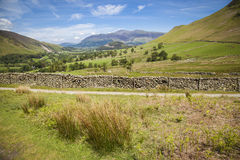 Landscape in Lake District. Typical landscape in Lake District, Cumbria Royalty Free Stock Image