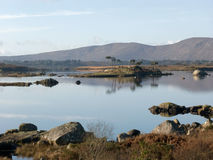 Landscape at a lake in Ireland. Landscape at a lake in Connemara, Ireland Stock Photo