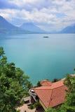 Landscape the lake Luzerne, Switzerland Royalty Free Stock Images