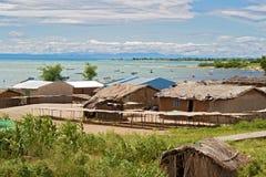 Landscape at the lake Malawi Stock Images