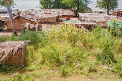 Landscape at the lake Malawi Stock Photos